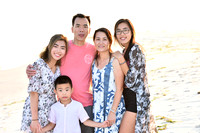 Vicky & family - beach photos